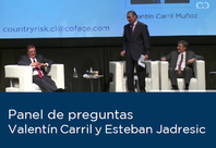 Panel de Preguntas Valentín Carril y Esteban Jadresic